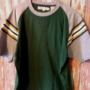 Point Zero vintage Men's Green T-Shirt